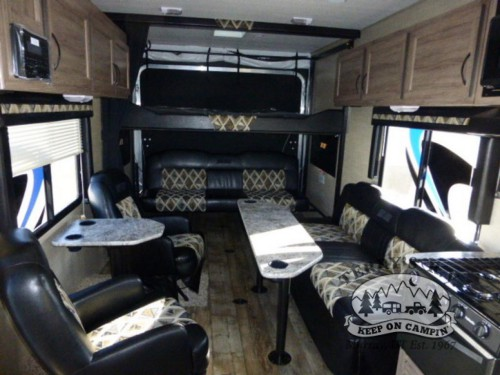Pacific Coachworks Sandsport Toy Hauler Interior