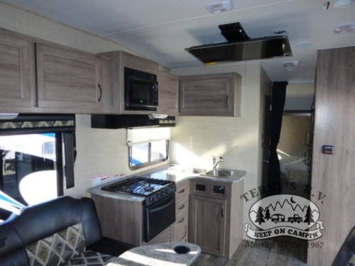 Pacific Coachworks Sandsport Toy Hauler Kitchen