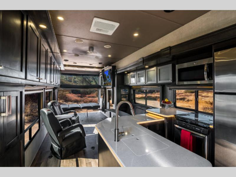 Iconic Wide Body Toy Hauler Fifth Wheel for sale
