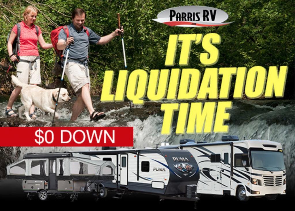 RV Sales Banner