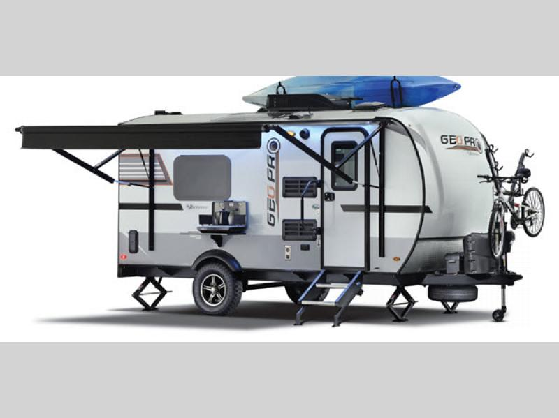 Rockwood Geo Pro Toy Hauler Travel Trailer Exterior