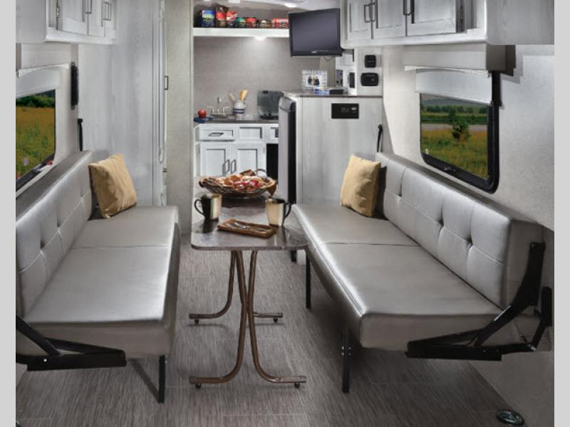 Rockwood Geo Pro Toy Hauler Travel Trailer Interior