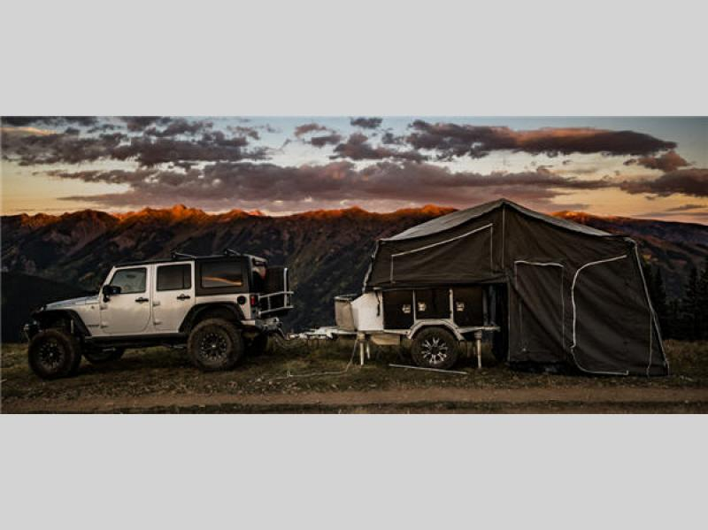 CRUX Expedition Folding Pop Up Camper Exterior